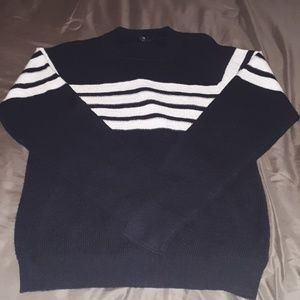 7 for all Mankind Striped sweater shirt size M